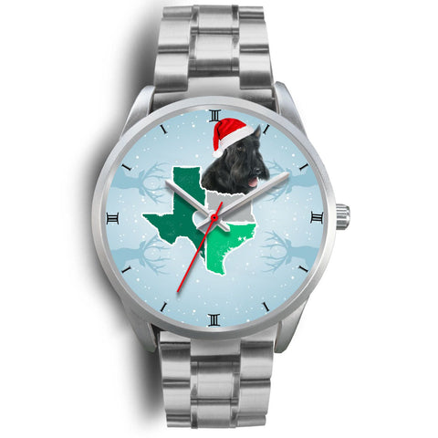 Scottish Terrier Texas Christmas Special Wrist Watch-Free Shipping