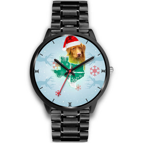 Nova Scotia Duck Tolling Retriever Texas Christmas Special Wrist Watch-Free Shipping