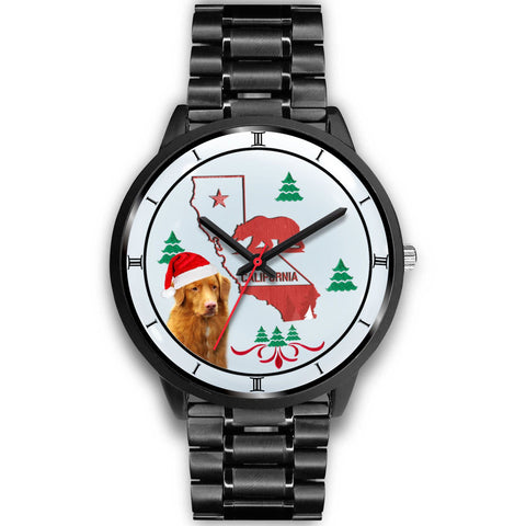 Nova Scotia Duck Tolling Retriever California Christmas Special Wrist Watch-Free Shipping