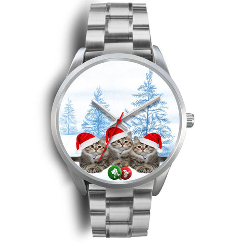 Siberian Cats Christmas Special Wrist Watch-Free Shipping