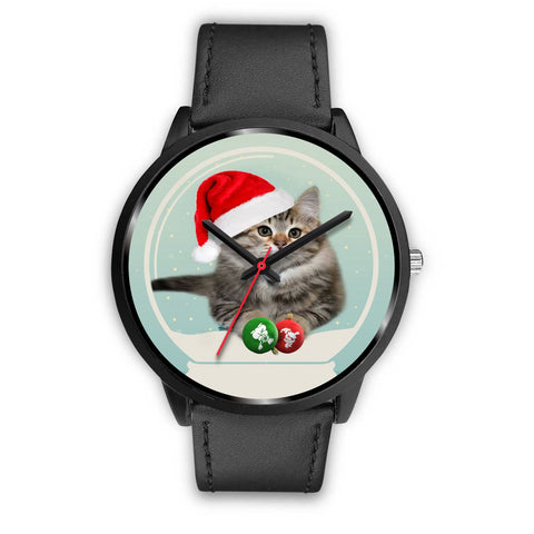 Cute Siberian Cat Christmas Special Wrist Watch-Free Shipping