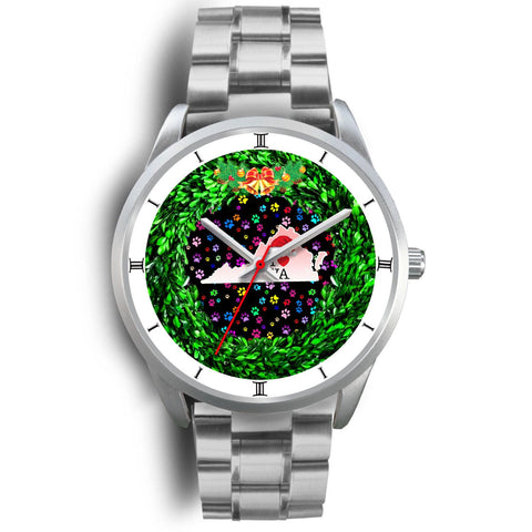 Dog Paws Print Virginia Christmas Special Wrist Watch-Free Shipping