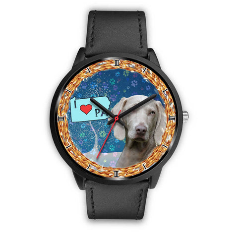 Weimaraner Dog Pennsylvania Christmas Special Wrist Watch-Free Shipping