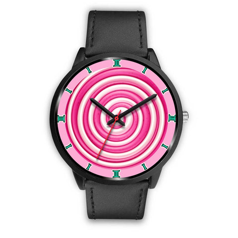 Candy Swirl Themed Wrist Watch-Free Shipping