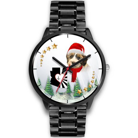 Shih Tzu Arizona Christmas Special Wrist Watch-Free Shipping