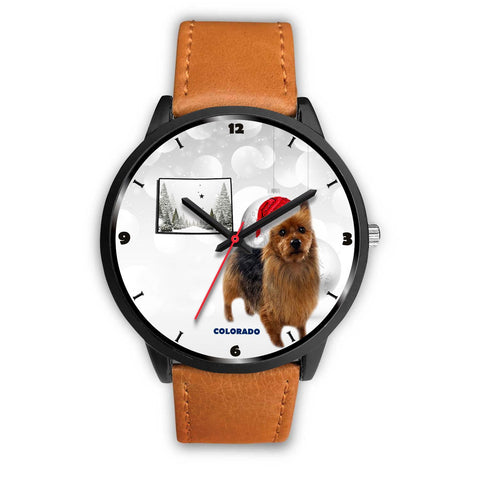 Australian Terrier Colorado Christmas Special Wrist Watch-Free Shipping