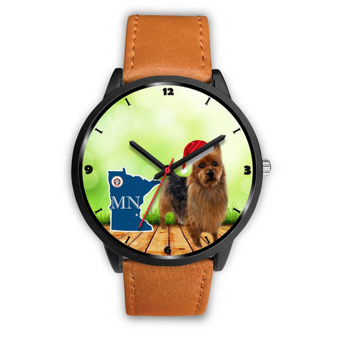 Australian Terrier Minnesota Christmas Special Wrist Watch-Free Shipping