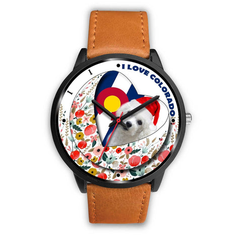 Bichon Frise Colorado Christmas Special Wrist Watch-Free Shipping