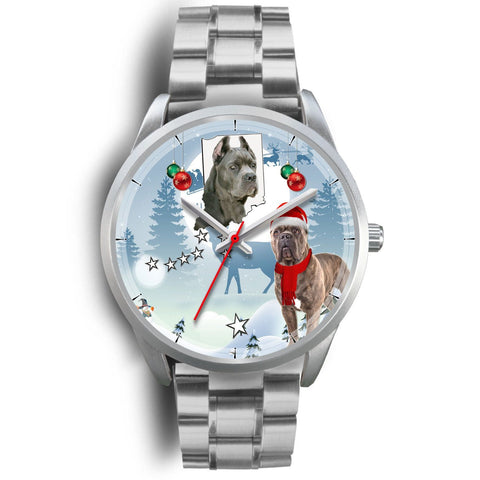 Cane Corso Indiana Christmas Special Wrist Watch-Free Shipping