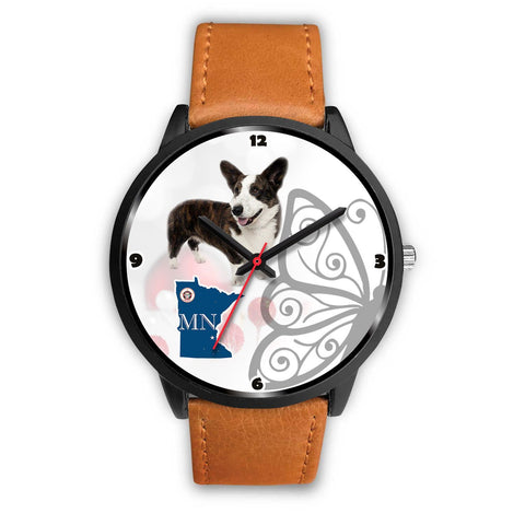 Cardigan Welsh Corgi Minnesota Christmas Special Wrist Watch-Free Shipping