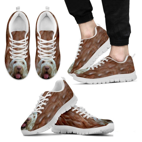 Spinone Italiano Dog Running Shoes For Men-Free Shipping-Paww-Printz-Merchandise
