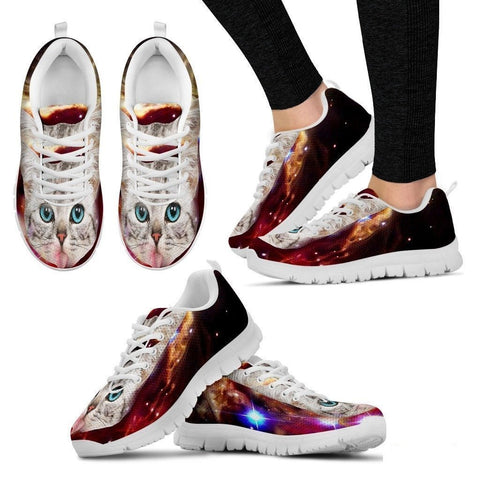Hungry Cat-Women's Running Shoes-Free Shipping-Paww-Printz-Merchandise