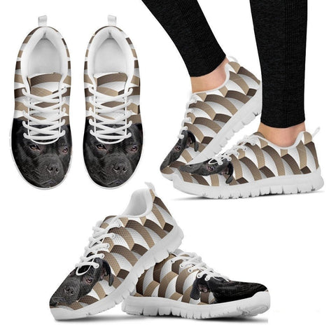 Staffordshire Bull Terrier Dog Running Shoes For Women-Free Shipping-Paww-Printz-Merchandise