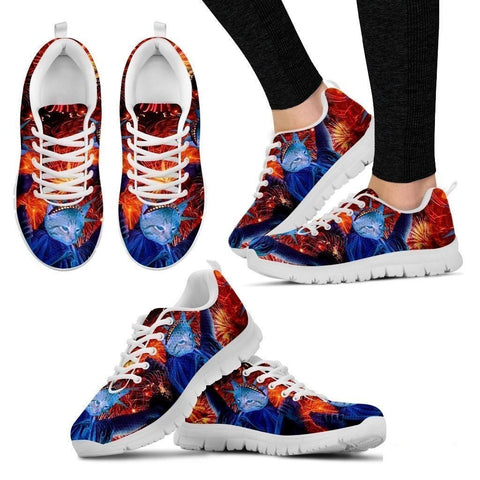 Statue Of Liberty-Cat Shoes For Women-Free Shipping-Paww-Printz-Merchandise