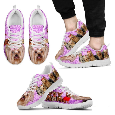 Group Yorkshire Dogs Running Shoes For Men-Free Shipping-Paww-Printz-Merchandise