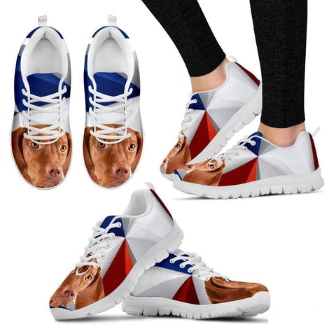 Vizsla Dog Running Shoes For Women-Free Shipping-Paww-Printz-Merchandise