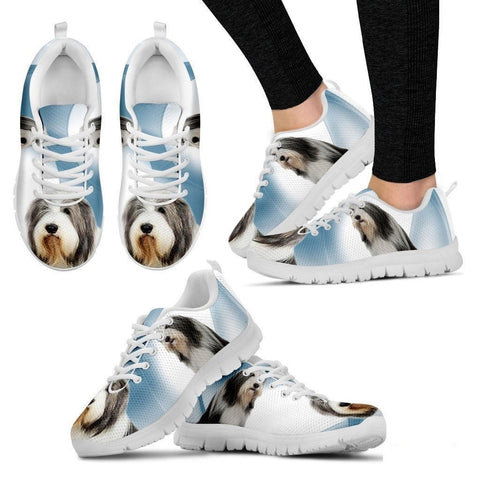 Bearded Collie Dog Running Shoes For Women-Free Shipping-Paww-Printz-Merchandise