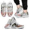 Beautiful LaPerm Cat Print Sneaker For Men- Free Shipping-Paww-Printz-Merchandise