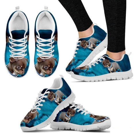 Chihuahua Dog-Running Shoes For Women-Free Shipping-Paww-Printz-Merchandise