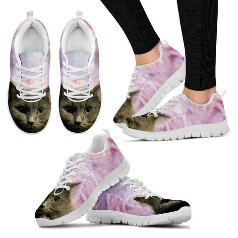Jenn Shaffer/Cat-Running Shoes For Women-3D Print-Free Shipping-Paww-Printz-Merchandise