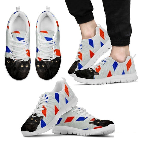 Bombay Cat Print Running Shoes For Men-Free Shipping-Paww-Printz-Merchandise
