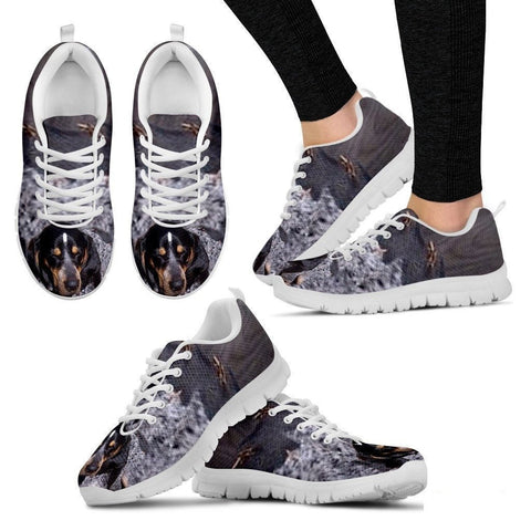 Bluetick Coonhound Dog Running Shoes For Women-Free Shipping-Paww-Printz-Merchandise