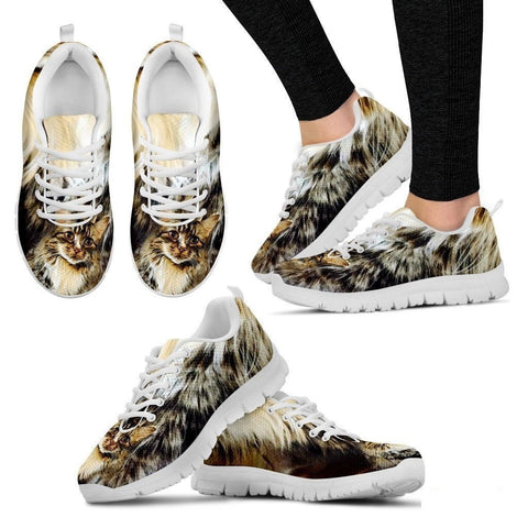 Kim Breaux-Cat Running Shoes For Women-Free Shipping-Paww-Printz-Merchandise