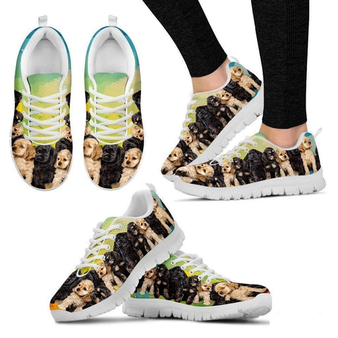 Cocker Spaniel Dogs-Running Shoes For Women-Free Shipping-Paww-Printz-Merchandise