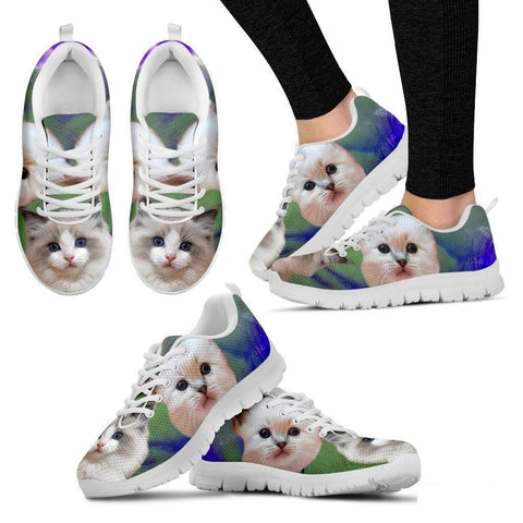 RagDoll Cat Print Running Shoes For Women-Free Shipping-Paww-Printz-Merchandise