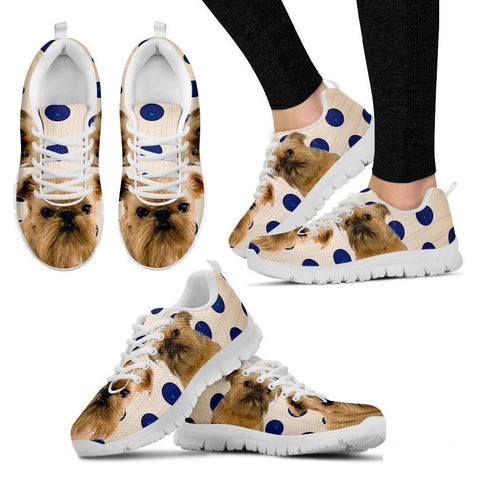 Brussels Griffon Dog Running Shoes For Women-Free Shipping-Paww-Printz-Merchandise