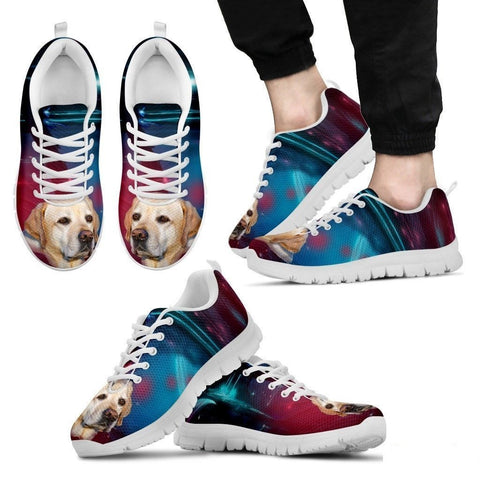 Labrador Dog Print Running Shoe For Men- Free Shipping-Paww-Printz-Merchandise