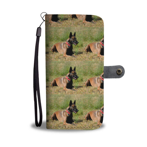 Belgian Malinois Dog Print Wallet Case-Free Shipping