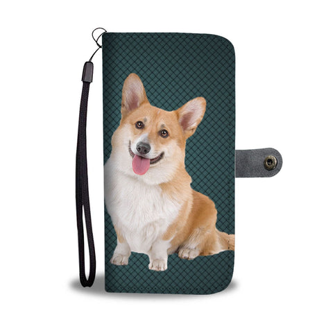 Cardigan Welsh Corgi Dog Print Wallet Case-Free Shipping