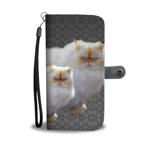 Amazing Himalayan Cat Print Wallet Case-Free Shipping