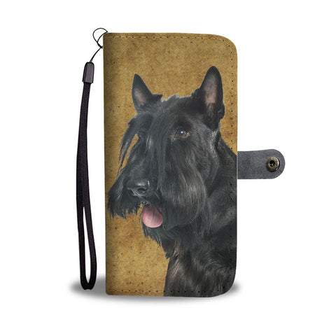 Scottish Terrier Print Wallet Case-Free Shipping