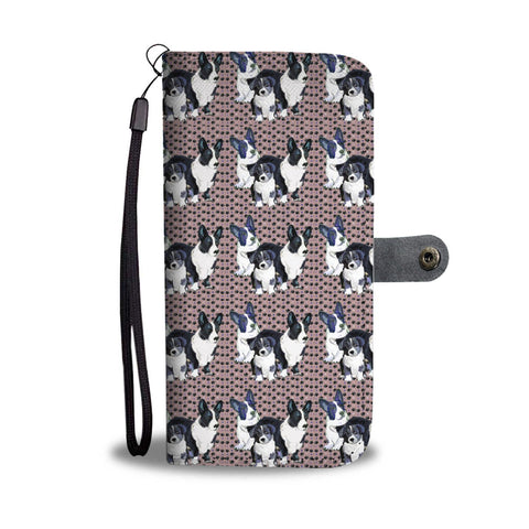 Cardigan Welsh Corgi 2nd Pattern Print Wallet Case-Free Shipping