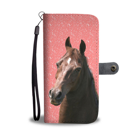 Amazing Morgan Horse Print Wallet Case-Free Shipping
