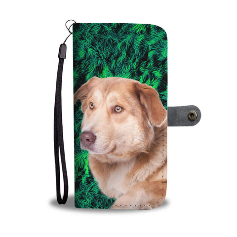 Amazing Aidi Dog Pattern Print Wallet Case-Free Shipping