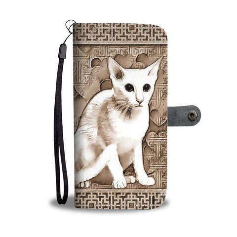 Oriental Shorthair Cat Print Wallet Case-Free Shipping