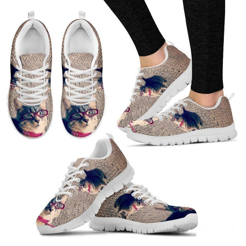 Bree patanella/Cat-Running Shoes For Women-3D Print-Free Shipping-Paww-Printz-Merchandise