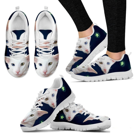 Oriental Cat Print Running Shoes For Women-Free Shipping-Paww-Printz-Merchandise