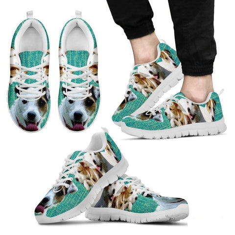 Parson Russell Terrier-Dog Shoes For Men-Free Shipping Limited Edition-Paww-Printz-Merchandise