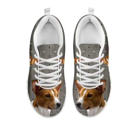 Amazing Basenji Print Running Shoes For Women-Free Shipping-For 24 Hours Only-Paww-Printz-Merchandise