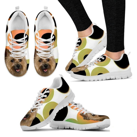 Cairn Terrier Dog Running Shoes For Women-Free Shipping-Paww-Printz-Merchandise