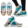 Cat On Pizza-Women's Running Shoes-Free Shipping-Paww-Printz-Merchandise