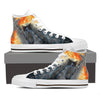 Cat Women's Canvas Shoes- Free Shipping-Paww-Printz-Merchandise