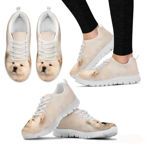 Chow Chow Dog Running Shoes For Women-Free Shipping-Paww-Printz-Merchandise