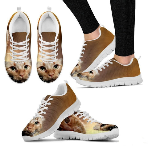 Constance Hargrave Aubuchon/Cat-Running Shoes For Women-Free Shipping-Paww-Printz-Merchandise