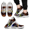 Coonhound Dog Print Running Shoe For Men- Free Shipping-Paww-Printz-Merchandise