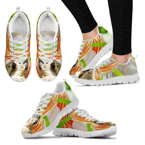 Cute Cockatoos Parrot Running Shoe For Women- Free Shipping-Paww-Printz-Merchandise
